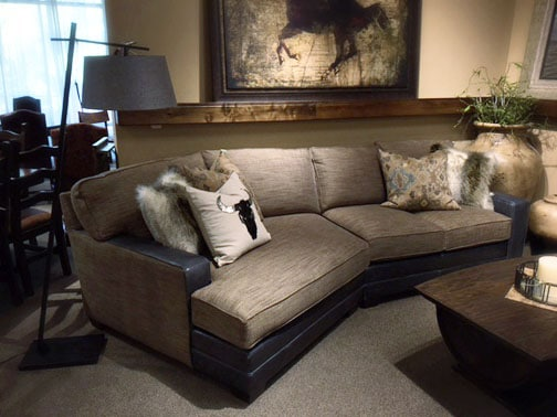 Sectional with Wedge End | NW Home Interiors | Bend, OR