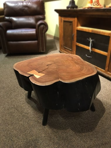 Stump Coffee Table Nw Home Interiors